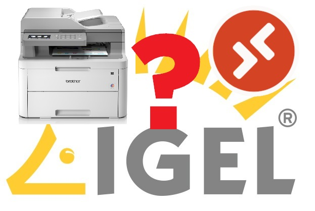 HowTo: Enable printing for WVD in IGEL OS – workaround