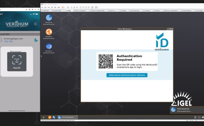 IGEL OS and VeridiumID -password-lessauthentication