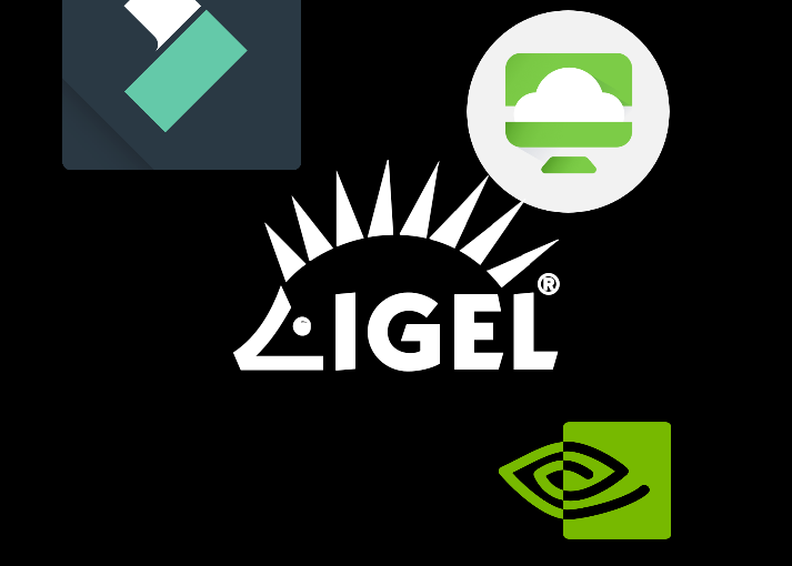 Use IGEL OS and VMWare Horizon for film making? Yepp, check!
